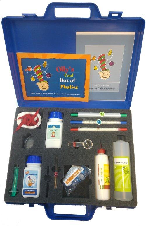 Olly's Cool Box of Plastics