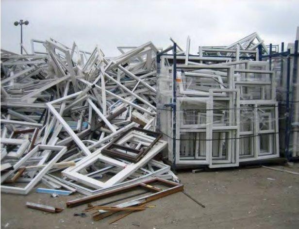 Wide flexible clear standard 2nds PVC sheet material