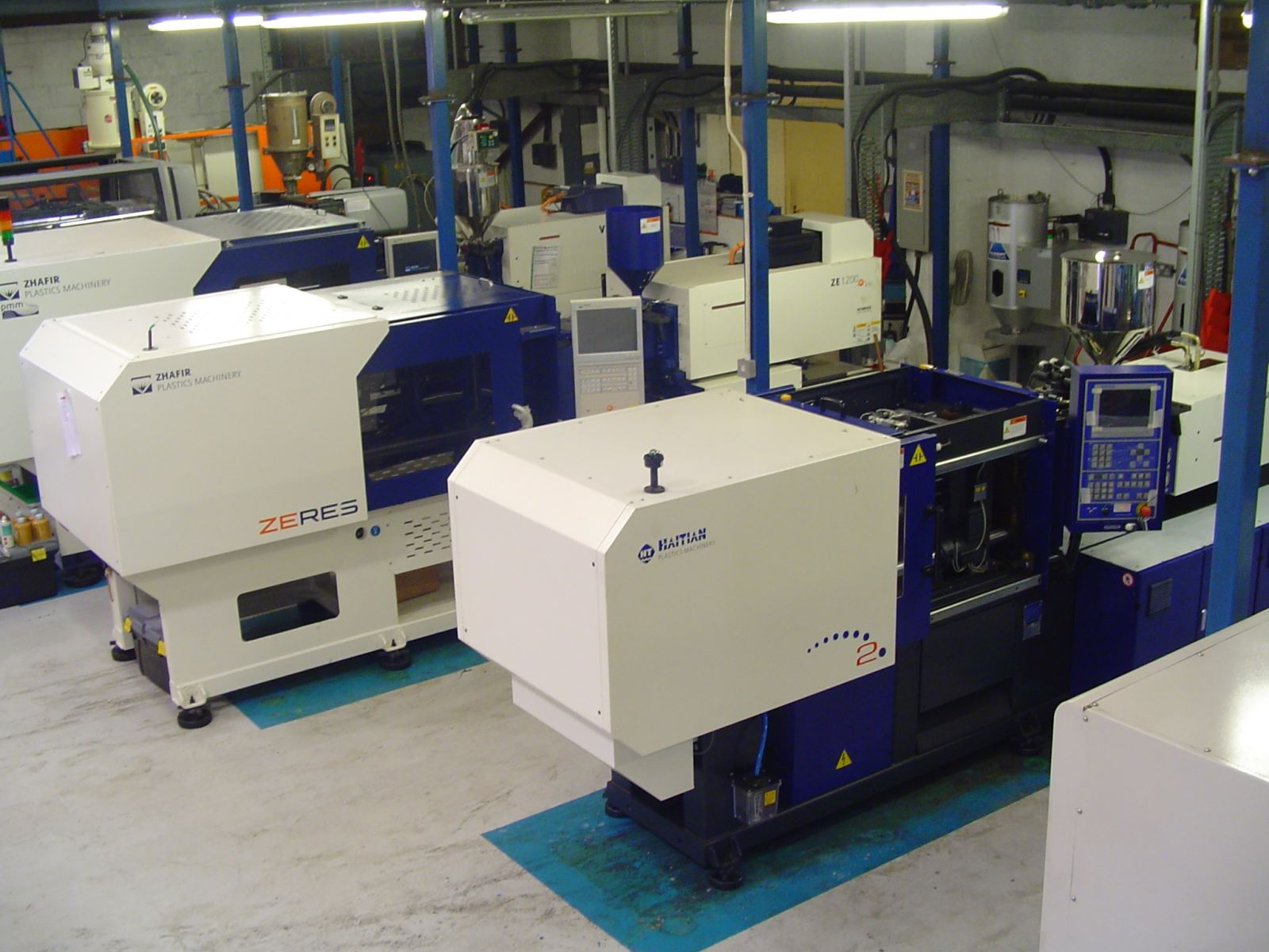 Two new injection moulding machines for the leading UK