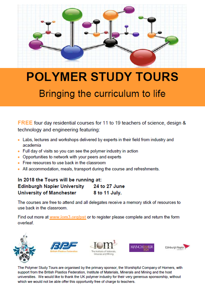 Polymer Study Tours 2019